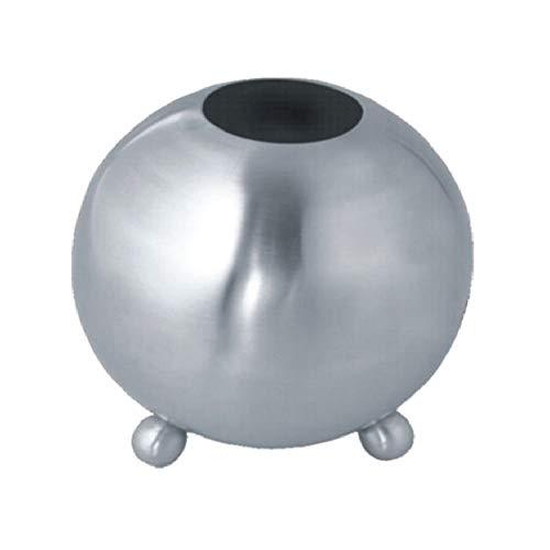 Metrox 19986 luchtbevochtiger van roestvrij staal (voor open haard, oven en radiator, inhoud 900 ml, luchtbevochtiger, diameter: 12 cm)
