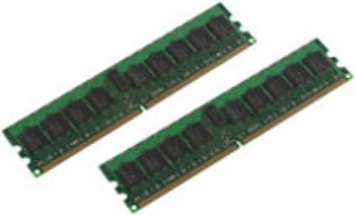 MicroMemory 2GB Kit DDR2 400MHz ECC/REG Speichermodul - Speichermodule (2 GB, 2 x 1 GB, DDR2, 400 MHz)
