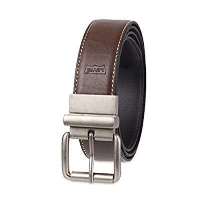 Levi's Men's Reversible Casual Jean Belt, black/Espresso, Large (38-40)
