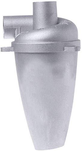 Zyklon Staubabscheider Dust Filter, Fünfte Generation Aluminium Legierung Hochleistungszyklon Pulver Staub Sammler Filter Fliehkraftabscheider Energieffizienzklasse A für Vakuum (4 pcs)
