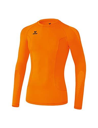 Erima Longsleeve de Base Longsleeve de Base Orange FR: 2XL (Taille Fabricant: XXL)