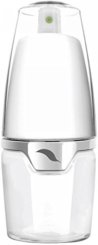 Prepara PP08-MSTLXE Oil Mister, Glass Base, 4.5 oz, Deluxe White