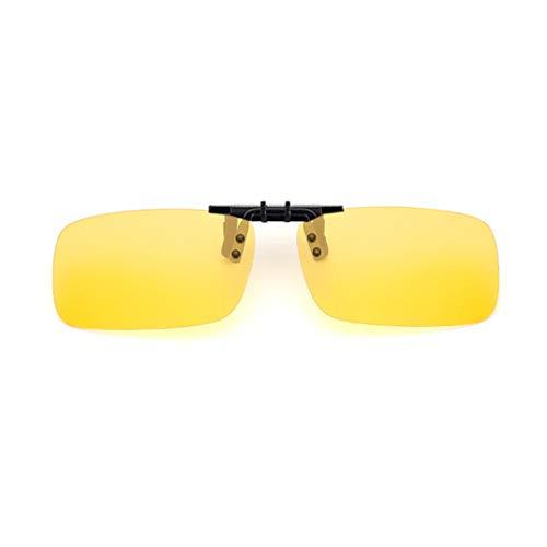 GUKOO Polarization Unisex Clip-On Occhiali da sole lenti UV400 polarizzate antiriflesso I migliori per guida Sparatutto Sport all'aria aperta