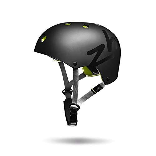 Zhik H1 Performance Watersports Helm für Kajak Kitesurfen, Windsurfen und Jollen - Schwarz - Unisex - Leichtgewicht