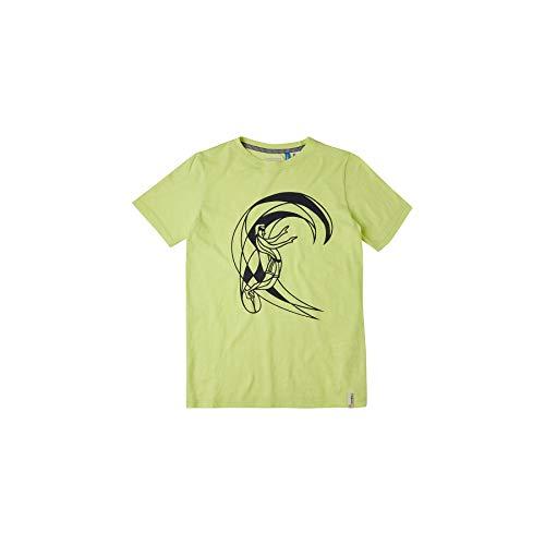O'NEILL - Maglietta da ragazzo Circle Surfer, Bambino, T-shirt, 1A2490, giallo, 128