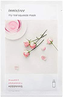 Innisfree My Real Squeeze Mask Pack - Rose