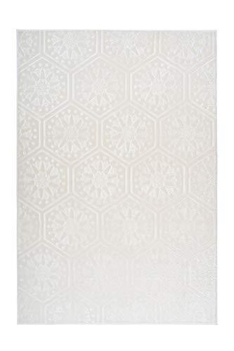 Arte Espina Teppich Monroe 200 Weiß, Größenauswahl:120 x 170 cm