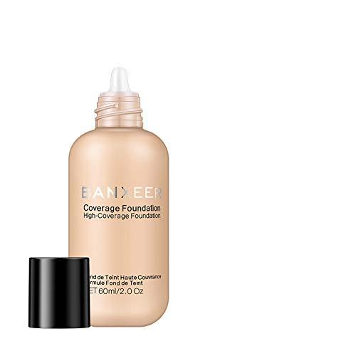 Fondotinta coprente alto Lentiggini Fondotinta Acne Pore Skin Uniform Complexion Foundation Fondotinta liquido Fondotinta idratante