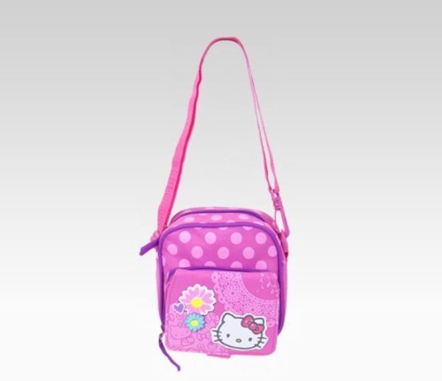 Hello Kitty Shoulder Pouch  Spring Flowers by Hello Kitty