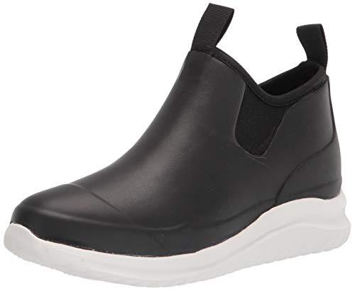 Chooka Women's Waterproof Bellevue Rain Sneaker with Hybrid Sport Outsole Boot, Black, 9