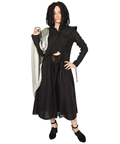 Game of Thrones Dragon Queen Costume, Black Adult HC-732 S