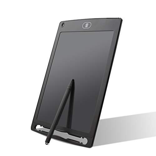 Tavoletta LCD da Disegno 12 Pollici,LCD Tablet da Scrittura Portatile con Custodia a Mano,con Penna Wireless Disegni di Animazione per Insegnante, Studenti, Progettista, Imprenditore