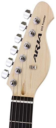Aria 615I Telecaster gitaar ivoor