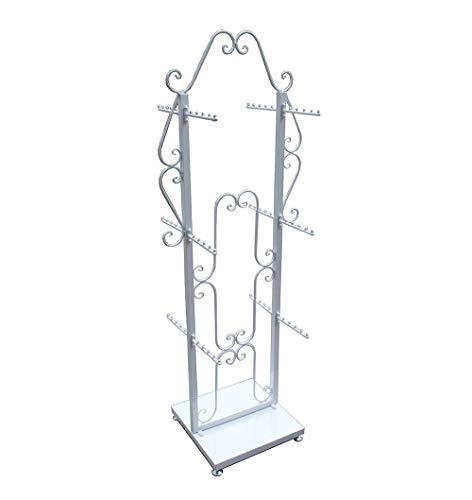 FixtureDisplays Double Sided Decorative Clothing Purse Jewelry Store Display Hanging Stand 100717