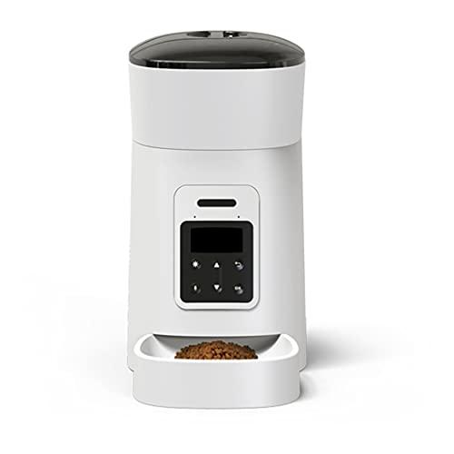 Yousiju Alimentador automático para Mascotas, alimentador automático para Perros, Gatos, Comidas de alimentación automática, dispensador de Alimentos para Mascotas, alimentador Manual 4L