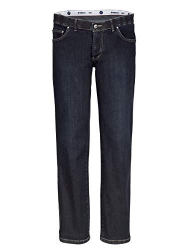 BABISTA Herren Unterbauch-Jeans – Männer-Hose aus Baumwoll-Mix, Jeans-Hosen mit verkürzter Leibhöhe, Freizeit-Hose in Dunkelblau Gr. 54