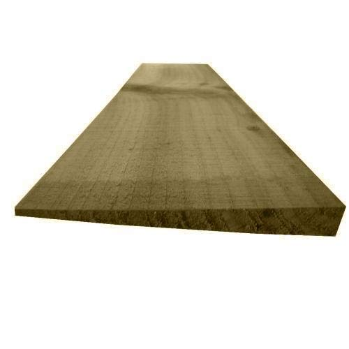 Ruby 10 pack Feather Edge Fencing Treated Wood Close Board 150mm Wide 1.65m High (1)