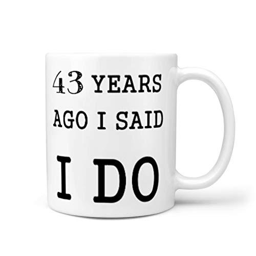 NC83 11 ounce geleden had ik gezegd dat ik het doee koffiemok porselein fun beker mok - grappig verjaardag Chanukka geschenken (aan beide zijden bedrukken)