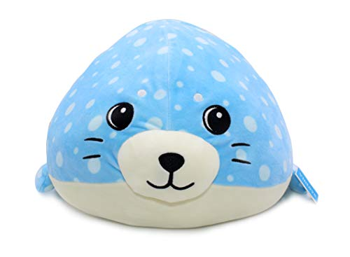 Vintoys Very Soft Blue Seal Big Hugging Pillow Plush Doll...