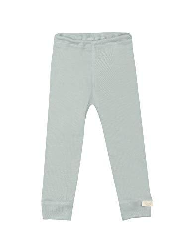 Dilling Leggings für Babys aus Bio Wolle & Seide Pastellgrün 74