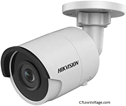 HIKVISION DS-2CD2035FWD-I 4MM 3MP Ultra-Low Light Outdoor Network Bullet Camera with 4mm Fixed Lens and Night Vision