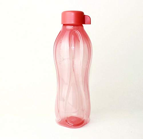 Tupperware® EcoEasy - Botella de agua (310 ml), color rosa