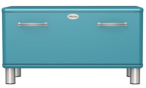 TENZO 5291-016 Malibu, Panca per Ingresso di Design, 47 x 86 x 41 cm, MDF Laccato, Turchese (Türkis)