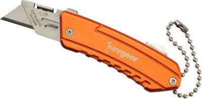 UST Brands Our shop Indefinitely OFFers the best service 50-KEY0064-08 Keygear Box Cutter - 6 Orange Quantity