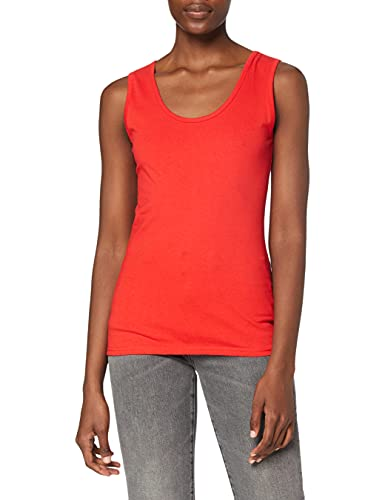 Fruit Of The Loom Lady-Fit Valueweight Damen Tank-Top L,Rot