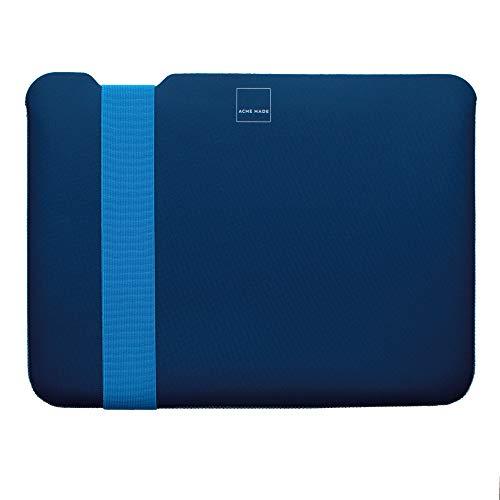 Acme Made Skinny Sleeve M, Ultra-dünne Notebookhülle, 13-14 Zoll, Neopren, pink/grau