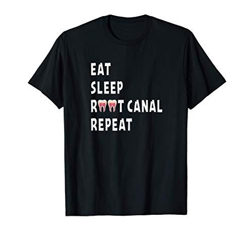 Funny Endodontist Saying Root Canal Dentist Endodontist Gift T-Shirt