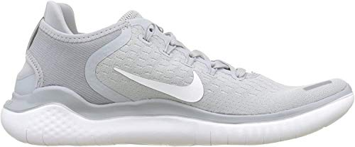 Nike Mens Free Rn 2018 Running Shoe, Wolf Grey/White/Volt, 9