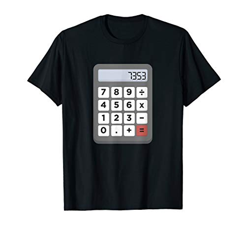 Esel Taschenrechner Schule Mathe T-Shirt