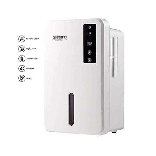 BBZZ Deshumidificador eléctrico de 1500 ml, elimina la humedad 750 ml por...