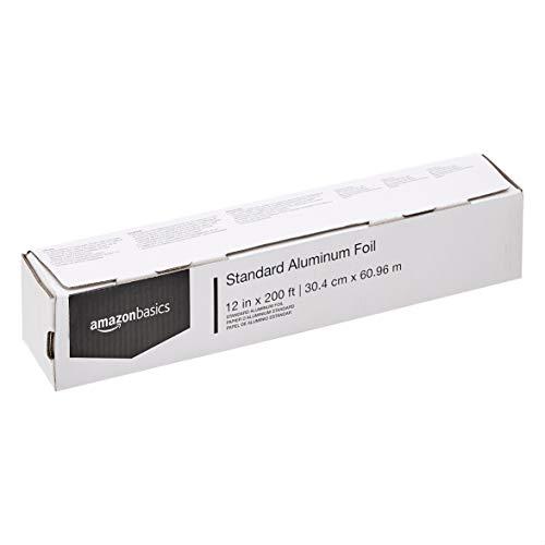 AmazonBasics Standard Aluminum Foil, 12' X 200'