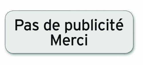Symbol PSC32 Plaque polycarbonate adhésive 75 x 250 mm Pas de pub