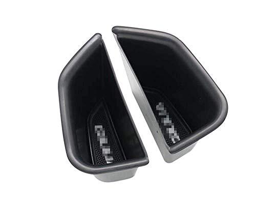 Cosilee 2pcs Front Side Door Armrest Storage Box Holder Glove Box Organizer For Ford Edge 2015 2016 2017
