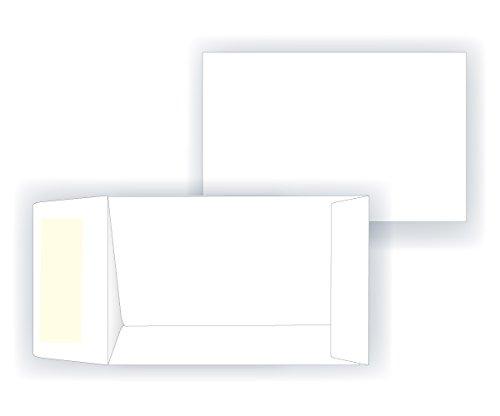 #1 Coin Envelope – Open End – 24# White (2 1/4 x 3 1/2) – Small Envelope Series (Box of 250)