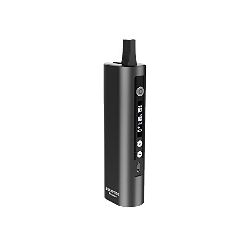 Dry Herb Vaporizer for Aromatherapy Herbs Temperature Control Herbstick Deluxe Herbal Vaporizer- Rechargeable Portable Smoke Vape - 30s Heat up time (Black)