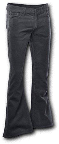 Chenaski Cordhose mit Schlag Schwarz Größe XL