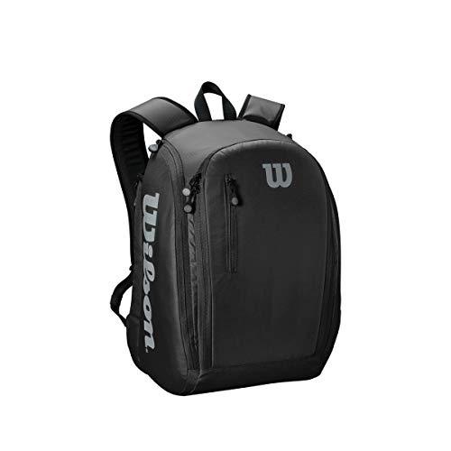 Wilson Unisex Tennis/- Tour Rucksack, schwarz, für bis zu 2 Schläger, WRZ843995
