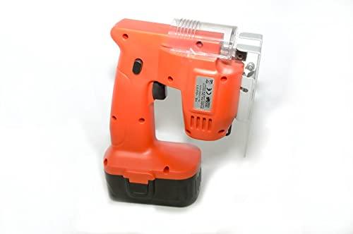 Seghetto alternativo con batteria ricaricabile e caricabatterie, ideale per lavori domestici