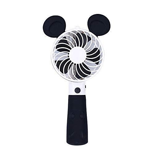 aipipl Mini Ventilador de Mano de Carga USB de Estilo Encantador portátil pequeño con palillo de Selfie