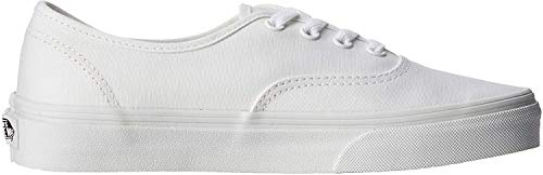 Vans AUTHENTIC Unisex-Erwachsene Sneakers, Blanc - True White, 37 EU