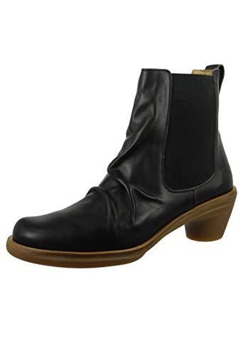 El Naturalista Damen Ankle Boots Aqua, Frauen Chelsea Boots, weibliche Ladies feminin elegant Women's Women Woman Freizeit leger,Black,41 EU / 8 UK