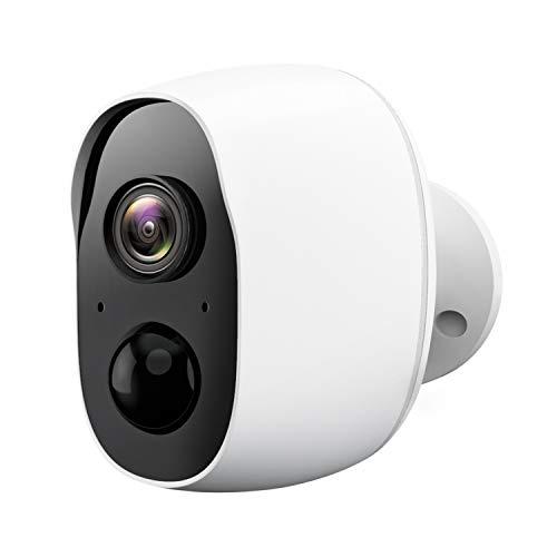 Wireless Surveillance Camera - Outdoor Surveillance Camera with Night Vision, WiFi Camera, with PIR Motion Detection, 2-Channel Audio, Waterproof