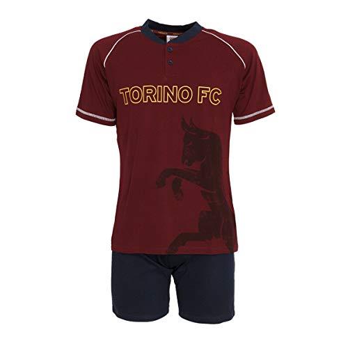 TORINO FC Completo Pigiama Prodotto Ufficiale Homewear Junior Taglie da 10 a 16 Anni BELOTTI FALQUE BASELLI Zaza (12 Anni)