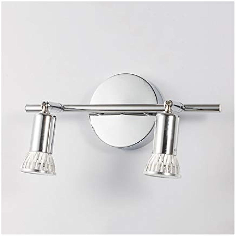 Bad Spiegelleuchten LED Spiegel Scheinwerfer dekorative Scheinwerfer Restaurant Schlafzimmer Küche Wand Deckenleuchten [Energieklasse A +] (Farbe   Positive Weiß light)