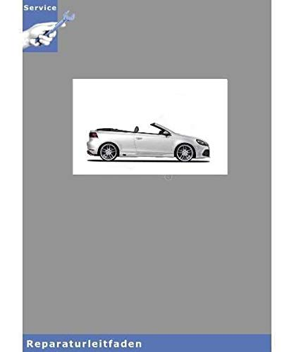 VW Golf VI Cabrio, Typ 517 (11>) 4-Zyl. Direkteinspritzer (1,8- und 2,0 l-Motor)