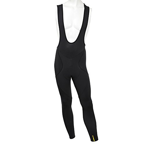 Mavic - Aksium Thermo Bib Tight, color negro, talla L